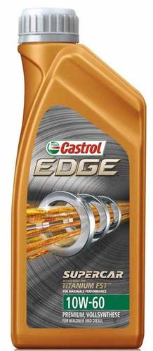 Castrol EDGE Supercar 10W-60 Titanium Fully synthetic 1L