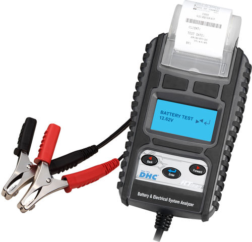 Digital-Batterietester DHC, Mod. RT-777 mit Drucker «D/F/I»